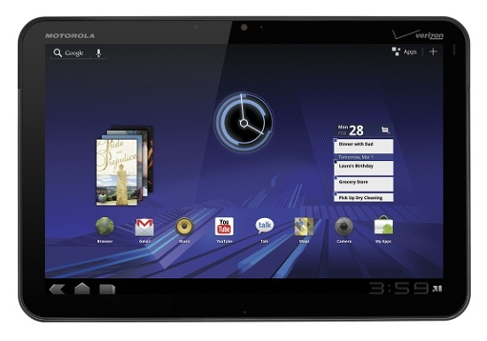 Motorola Xoom 4G Android Tablet Unboxing
