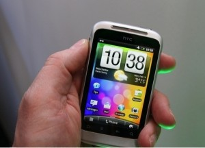 HTC Wildfire S Android Smartphone Hands-on (Video)