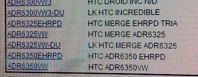 HTC DROID Incredibe 2 reportedly appeared on Verizon's System