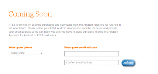 AT&T to make Amazon Appstore available for Consumers soon