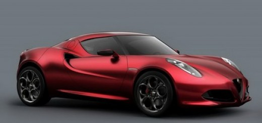 Alfa Romeo 4C Concept Sports Car Unveiled at Geneva