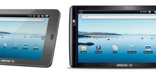 Archos ARNOVA 8 and 10 inch Android Tablets' Specs and Price
