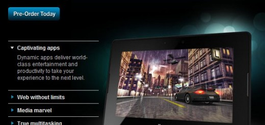 BlackBerry PlayBook WiFi-only Tablet Price and Release Date officially revealed; Pre-order now