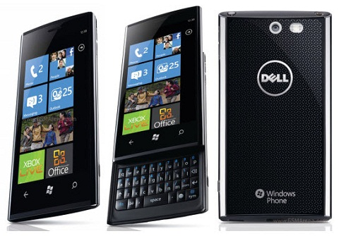 T-Mobile Dell Venue Pro gets Windows Phone 7 NoDo and Dell firmware Update today