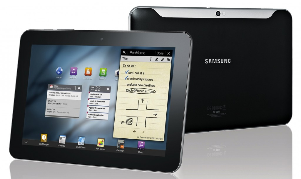 Samsung Galaxy Tab 8.9 Hands-on (Video)