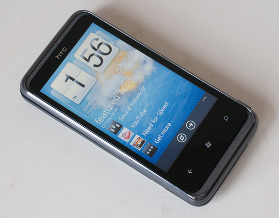 WP7 HTC 7 Pro Smartphone Review