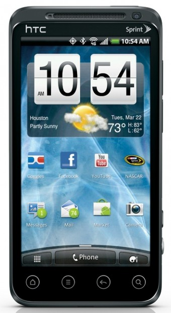 Sprint HTC EVO 3D Smartphone to release this Summer