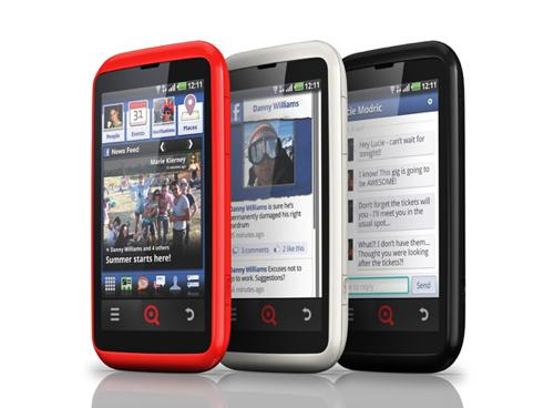 INQ Cloud Touch 'FaceBook Phone' UK Release Date on April 6th; Pre-Order Now for $485