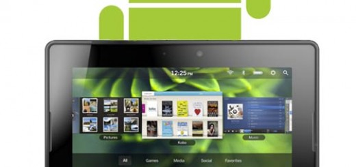 "RIM confirms BlackBerry PlayBook will support Android App with ""App Player"""