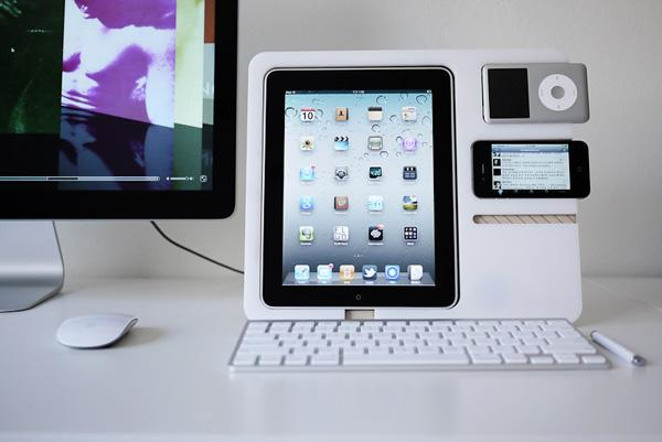 Polyply iDevice Rack Could Neatly Keep Your Apple Mobile Products