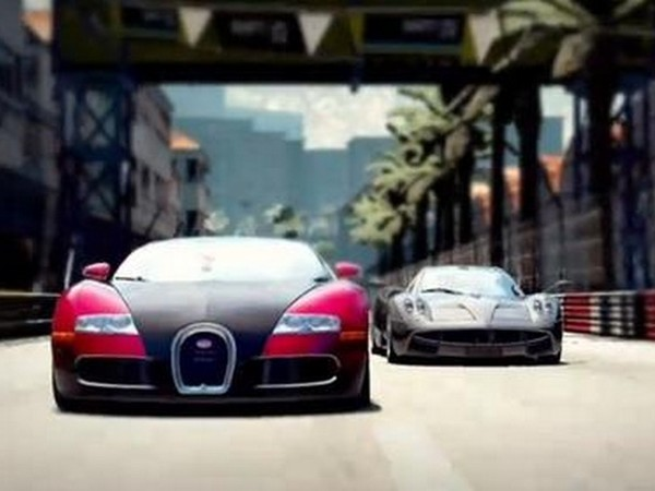 Bugatti Veyron Vs Pagani Huayra in Need For Speed ​​Shift 2 Unleashed Trailer