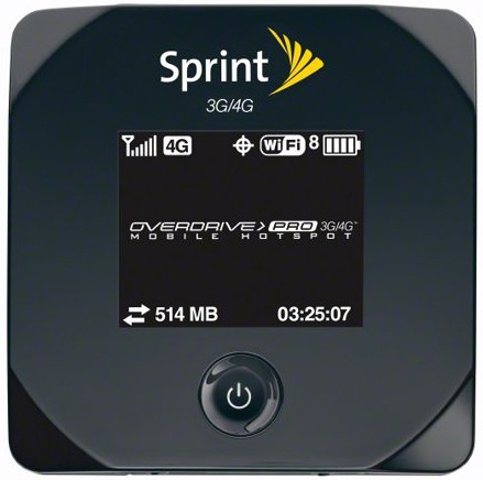 Sprint Overdrive Pro 3G/4G mobile Hotspot Router announced, will be available on March 20 onwards