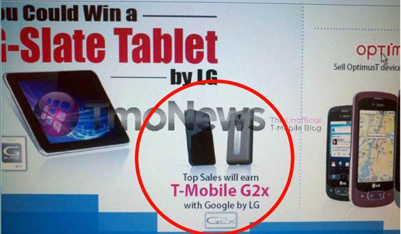 LG Optimus 2X expected to be launched as T-mobile G2x in US