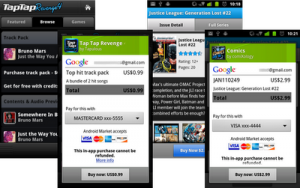 In-App purchasing goes live on Android Market