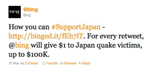 Microsoft Apologises for Japan Disaster Marketing Tweet