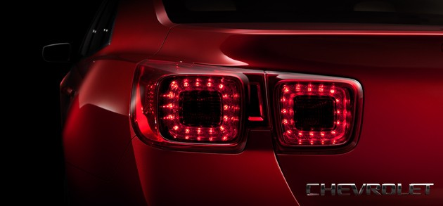 2012 Chevrolet Malibu Teaser Video and Image appeared online