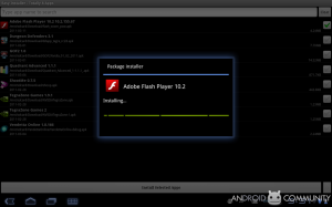 Adobe Flash Player 10.2 finally available for Froyo and Higher Version of Android