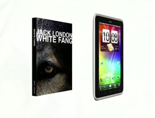 HTC Flyer Android Tablet official Video appeared online; Introduces all cool stuffs of the Tablet