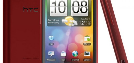 HTC Incredible S in Red color appeared online