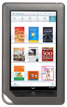 Barnes & Noble's Nook Color eReader to get a Software update in April; expected to bring Flash, Email and App Store