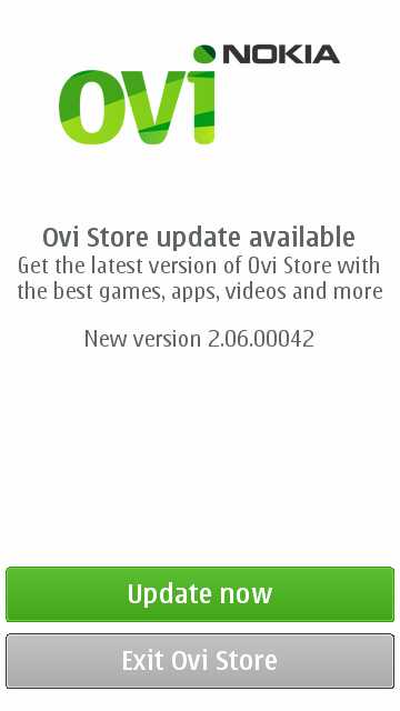 Symbian^3 and S 60 Nokia handsets gets Ovi Store Update