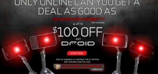 Verizon Offers $100 Off for All DROID Smartphones