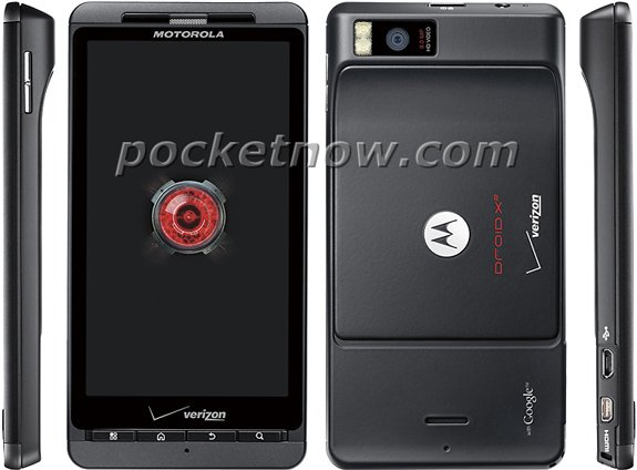Verizon Motorola DROID X2 Press Shots appeared online