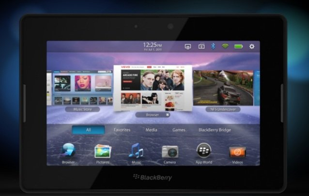 BlackBerry PlayBook WiFi Tablet released;  Spec and Price