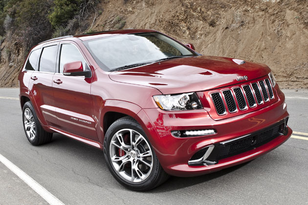 2012 Jeep Grand Cherokee SRT8 SUV unveiled at New York Auto Show- the fastest Jeep ever built