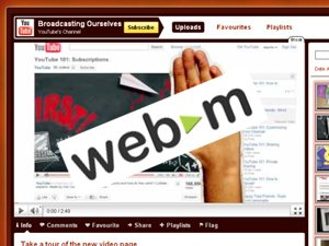 Google announces WebM format for YouTube Videos