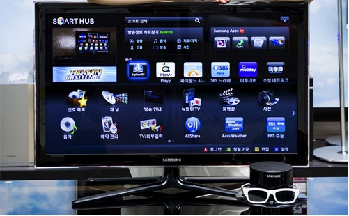 Samsung releases Samsung D6350 32 inch 3D Smart TV in Korea