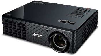 Acer X1261P 3D Ready DLP Projector released in India for $784