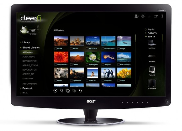 Acer DX241H Web Surf Station unveiled; releasing in May for a Price of £299