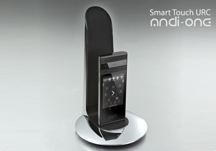 Andi-One Android Universal Remote also functioning as Mini-Tablet or IP Phone