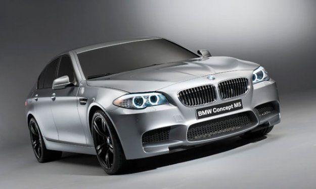 BMW M5 Concept Unveiled in Shanghai