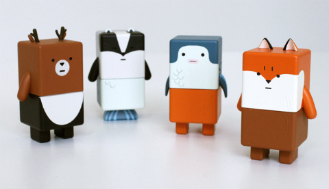 Dentsu Suwappu Augmented Reality Toys First Look