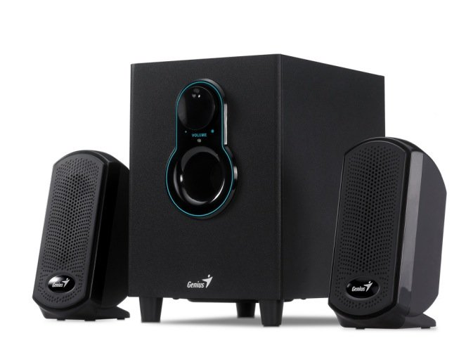 Genius SW-G2.1 1250 affordable 2.1 Gaming Speakers released