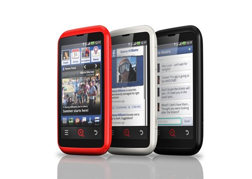 INQ Cloud Touch Facebook Phones finally hits UK for $489