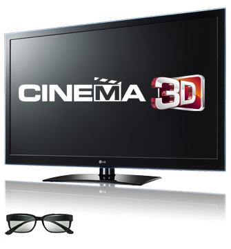 LG LW4500 3D Cinema TV heads to Europe