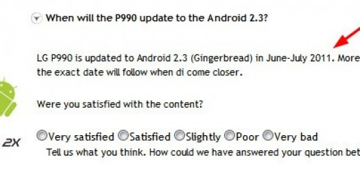 LG Optimus 2X to get Android 2.3 Gingerbread Update in this summer