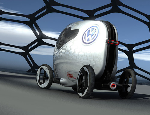MBOLIC Modular car Colin Pan designed it for Youths in populated Chinese Urban areas