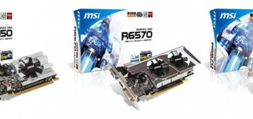 MSI announces AMD Radeon HD6000-based MSI R6670-MD1GD5, R6570-MD1GD3/LP, and R6450-MD1GD3/LP Graphics Cards