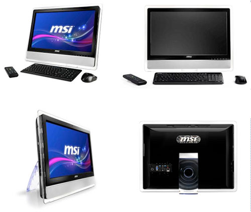 "MSI announces 24"" MSI AE2410 All-In-One Desktop PC"