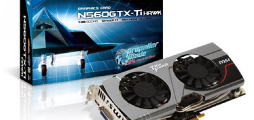MSI announces new MSI N560GTX-Ti Hawk Graphics Card with MSI's Propeller Blade technology