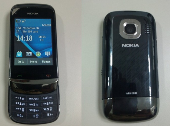 Nokia C2-06 Dual Sim Touch and Type Slider S40 Phone leaked in India
