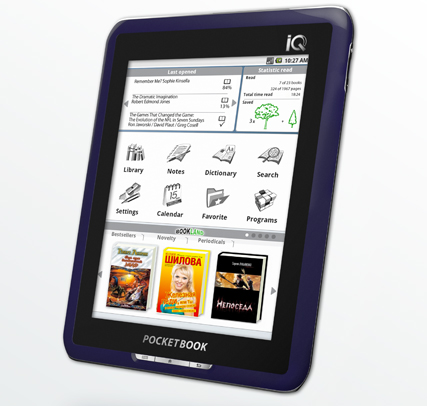 PocketBook IQ 701 7-inch Android eReader Specs and Review