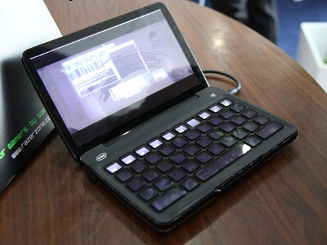 Razer Switchblade Intel Oak Trail powered Portable Gaming PC to launch in China