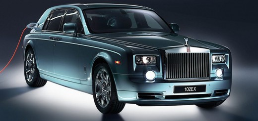 Rolls-Royce Phantom 102EX Concept Electric Version unveiled at Geneva Auto Show