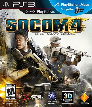 SOCOM 4 U.S. Navy Seals PlayStation Move Motion Game Now Available for Pre-Order
