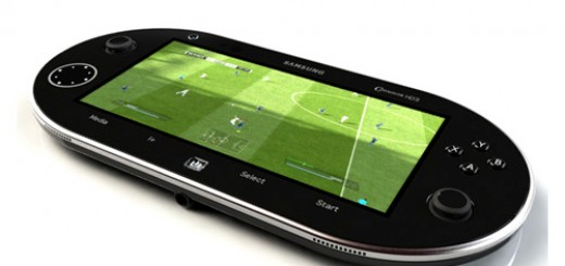 Samsung HD3 Android based Portable Gaming Console Concept‎ Unveiled